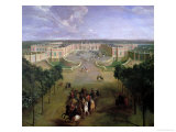 View of the Grand Trianon, 1722