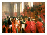 Bonaparte and the Council of Five Hundred at St. Cloud, 10th November 1799, 1840