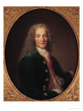 Portrait of Voltaire after 1718