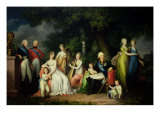 Paul I, Maria Feodorovna and Their Children, circa 1800
