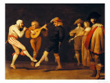 Farce Actors Dancing Giclee Print