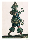 The Innkeeper, Allegorical Costume Design