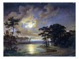 Holstein Sea - Moonlight, 1847 Giclee Print
