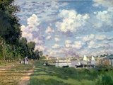Buy The Marina at Argenteuil, 1872 at AllPosters.com