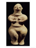 Statue of a Goddess, 6th Millennium BC