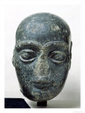 Head of a Man, Known as Gudea with a Shaved Head, from Telloh Neo-Sumerian, circa 2120 BC