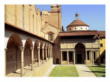 View of the Cloisters and the Pazzi Chapel, 1429-46