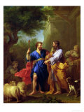 Jacob and Laban, Before 1737