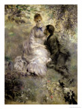 The Lovers, circa 1875 Giclee Print