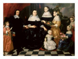 Group Portrait Said to be the Kuysten Family