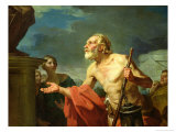 Diogenes Asking for Alms, 1767