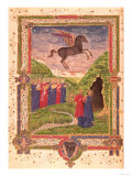 Buy The Nine Muses on Mount Helicon Near the Spring of Hippocrene Stamped out by Pegasus, 15th Century at AllPosters.com
