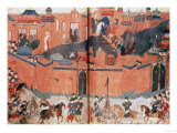 Mongols Storming and Capturing Baghdad in 1288