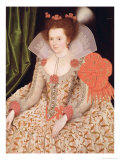 Princess Elizabeth, Daughter of James I, 1612