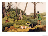 Pheasant Shooting, Pub. by Thomas Mclean, 1820