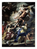 Boreas Abducting Oreithyia, Daughter of Erechtheus, 1729