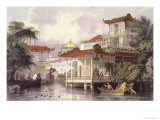 Home of a Chinese Merchant Near Canton