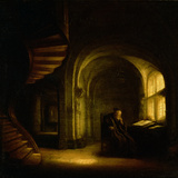 Buy Philosopher with an Open Book, 1625-7 at AllPosters.com