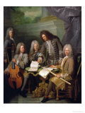 La Barre and Other Musicians, circa 1710