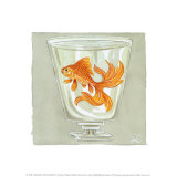 Whimsical Goldfish IV
