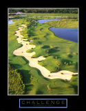 Challenge: Golf II Art Print