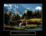 Freedom: Cowboys Art Print