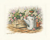 Watering Can and Impatiens