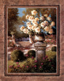 Urn with Yellow Roses