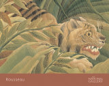 Tiger in a Tropical Storm (Surprised!), 1891 (detail)