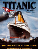 Titanic Tin Sign