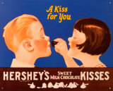 Hershey's Kiss for You Tin Sign