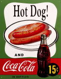 Hot Dog and Coca Cola