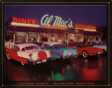 Al Mac's Diner Tin Sign