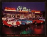 Al Mac's Diner Tin Sign