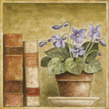 Potted Flowers with Books III