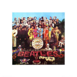 The Beatles - Sgt. Pepper's Lonely Hearts Club Band Poster Print