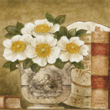 Potted Flowers with Books VI
