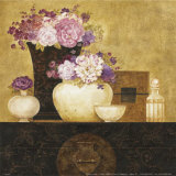Still Life, Flowers on Antique Chest II