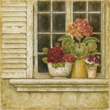 Floral Arrangement in Windowsill I