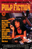 Pulp Fiction  Cover with Uma Thurman Movie Poster