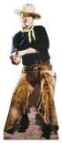 John Wayne with Chaps Lifesize Standup Poster Stand Up