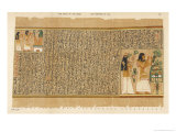 Book of the Dead: Ani and His Wife Tutu Adoring Thoth