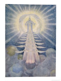 Buy God and His Angels Enthroned on High in the Heavens at AllPosters.com