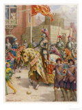 Sir Philip Sidney Jousts at Whitehall