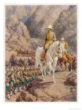 Lord Roberts on the March to Kandahar