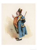 Mr. Bumble the Beadle Who Sold Oliver Twist to the Undertaker Giclee Print