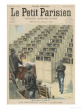 Prisoners in the Prison De Fresnesparis are Lectured on the Dangers of Alcoholism