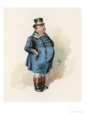 The Pickwick Papers: Joe, The Fat Boy Giclee Print