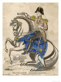 Napoleon Bonaparte I on His Horse Giclee Print