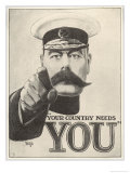 Your Country Needs You, Featuring Lord Kitchener